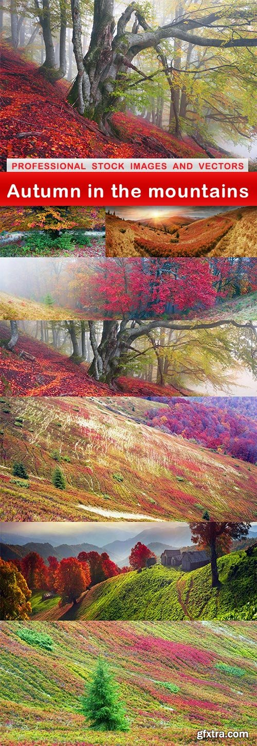 Autumn in the mountains - 8 UHQ JPEG