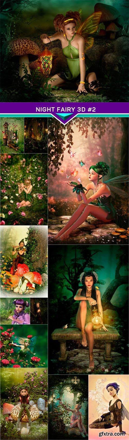 Night Fairy 3d #2 13X JPEG