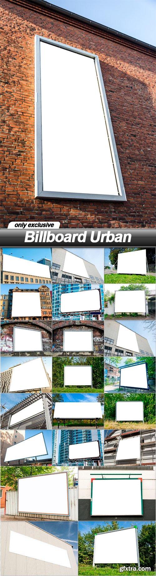 Billboard Urban - 23 UHQ JPEG