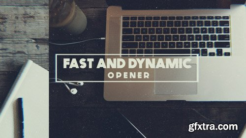 Videohive - Dynamic and Fast Opener - 17883484