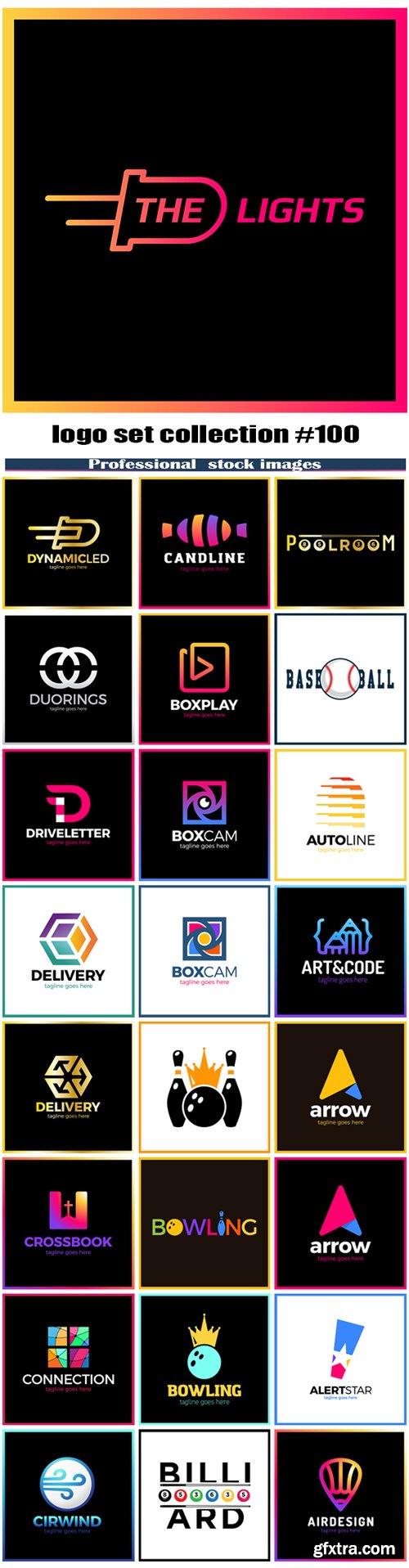 logo set collection #100