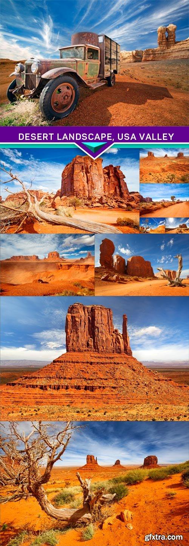 Desert landscape, USA valley 10X JPEG