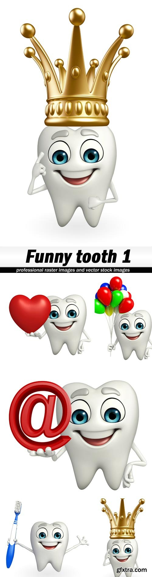 Funny tooth 1 - 5 UHQ JPEG