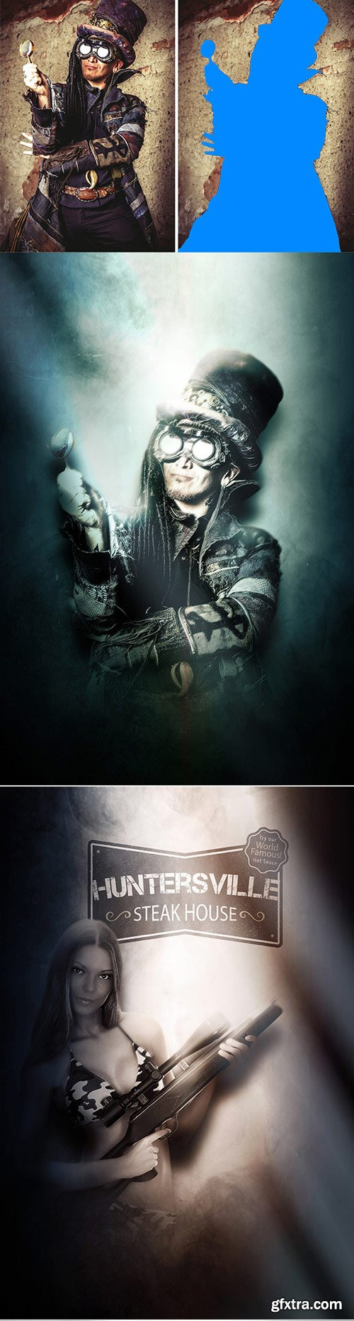 GraphicRiver - Fantasy Light - Photoshop Action - 17681887