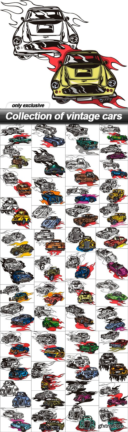 Collection of vintage cars - 49 EPS