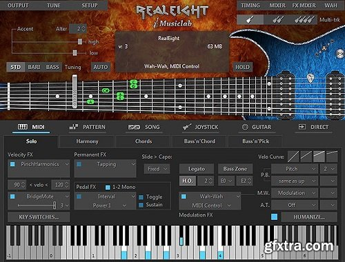 MusicLab RealEight v4.0.2.7433 macOS-CASHMERE