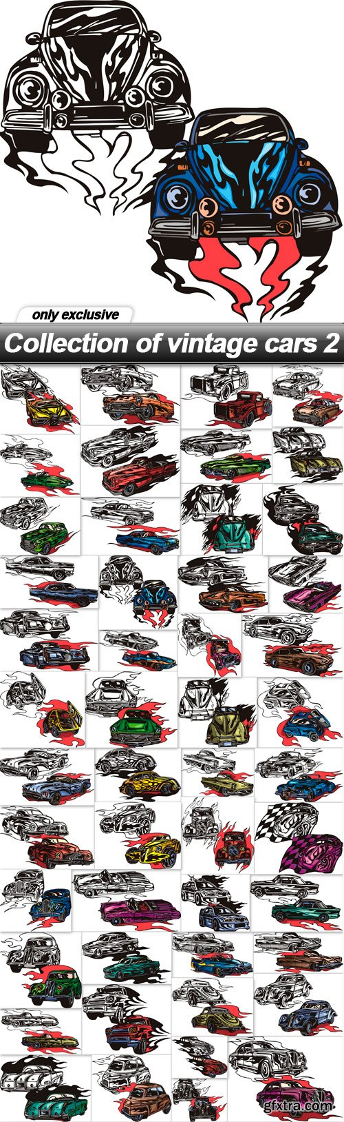 Collection of vintage cars 2 - 49 EPS