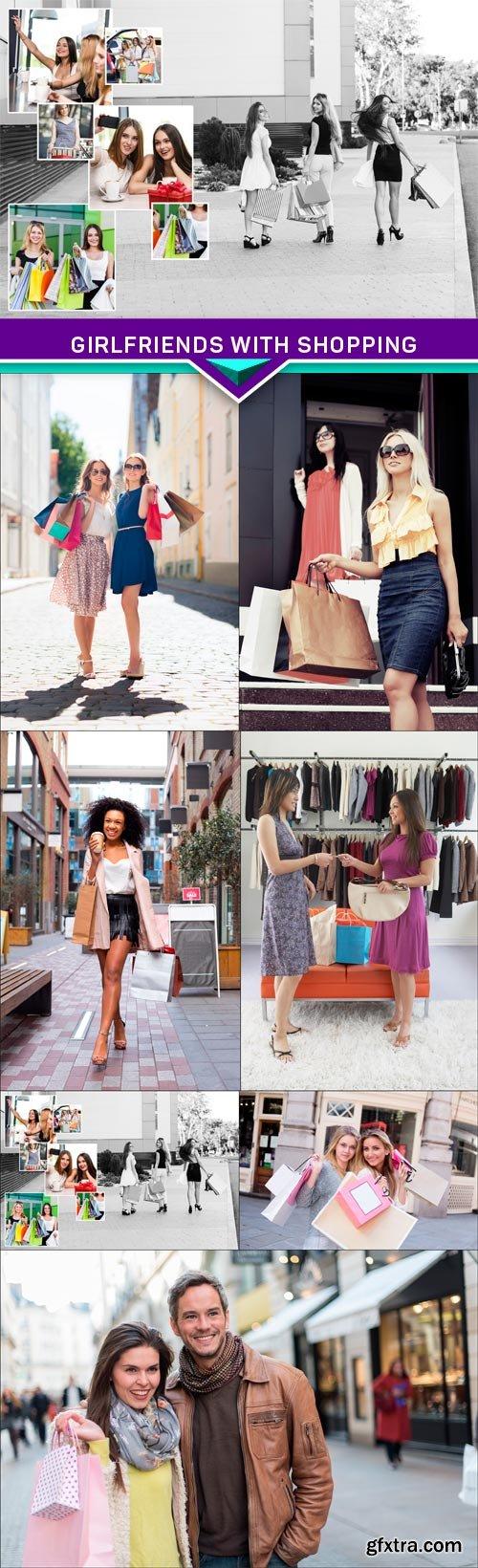 Girlfriends with shopping 7X JPEG