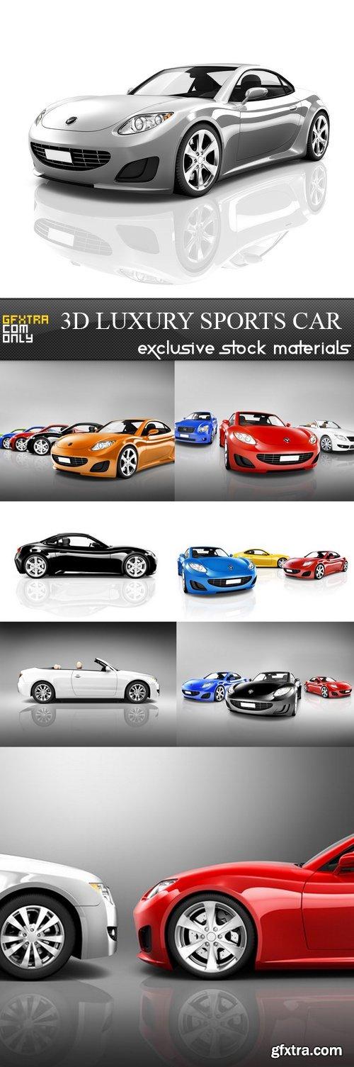 3D Luxury Sports Car - 8 UHQ JPEG