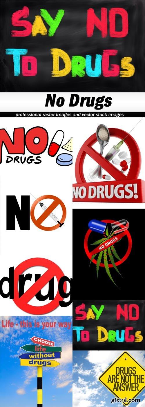 No Drugs - 8 UHQ JPEG