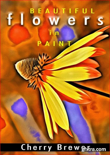 Artistic Flower Paint: Beautiful Flower Drawing