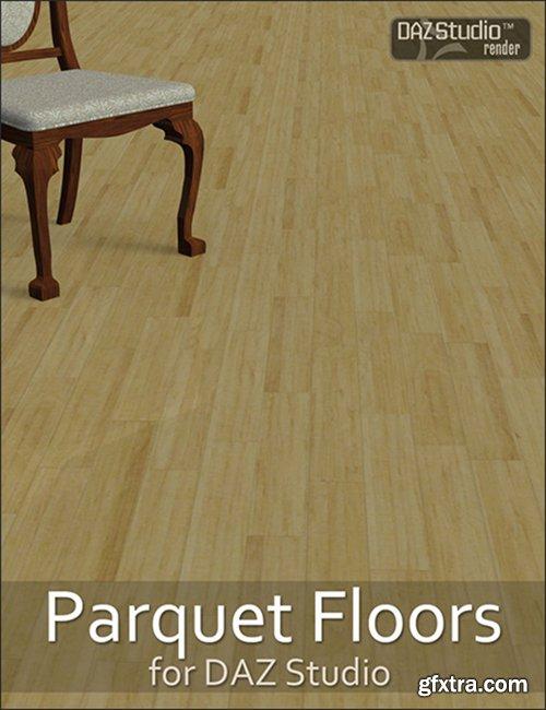 Parquet Floors Shader Presets for DAZ Studio