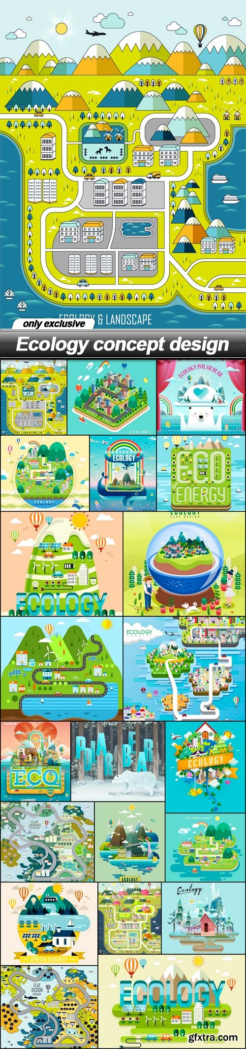 Ecology concept design - 21 EPS
