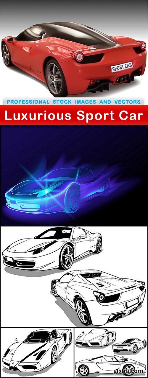 Luxurious Sport Car - 5 EPS