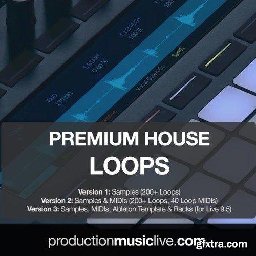 Production Music Live Premium House Loops V1 WAV MiDi-PiRAT