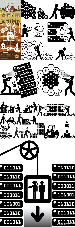 Family Consumerism Data Mine Infographic