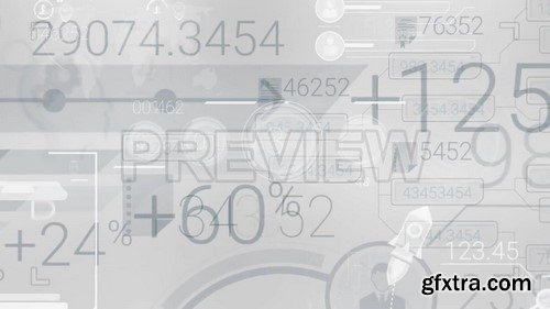 Overlays Abstract Elements Infographic - Stock Motion Graphics