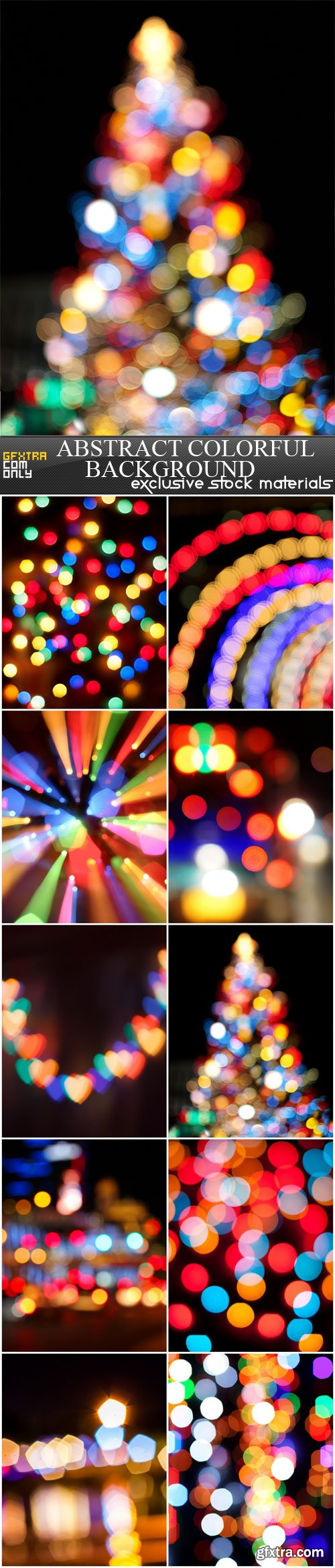 Abstract colorful background, 10 UHQ JPEG