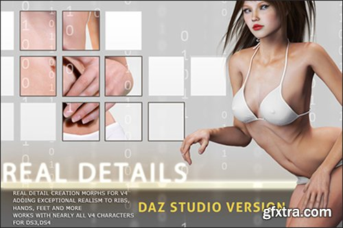 i13 Real Details - Daz Studio Version by ironman13