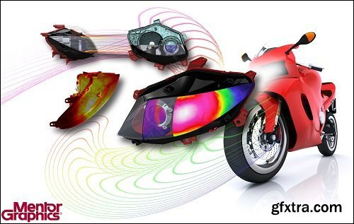 Mentor Graphics FloEFD v17.4.0.4380 Suite X64 ISO-SSQ