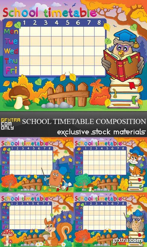 School Timetable Composition - 5 EPS
