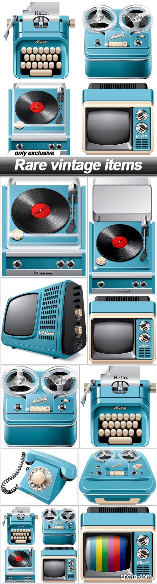Rare vintage items - 10 EPS