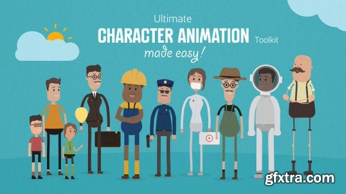 Videohive Ultimate Character Animation Toolkit 17451884