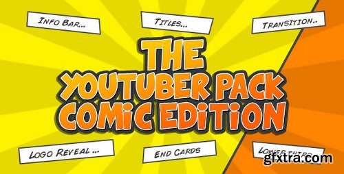 Videohive The YouTuber Pack - Comic Edition 16575265