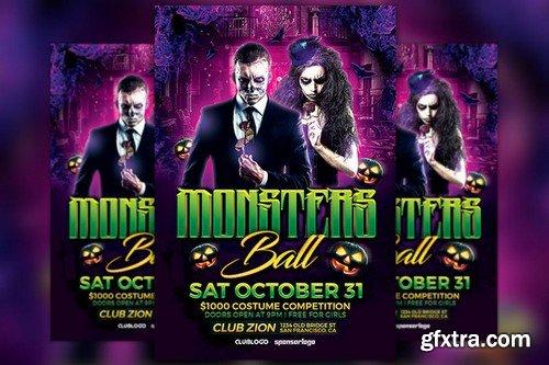CM - Monsters Ball Flyer Template 903034