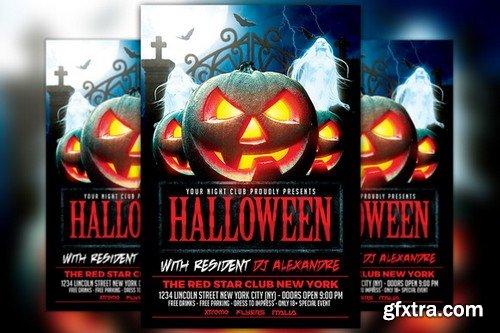 CM - Halloween Nightclub Party Flyer 914133