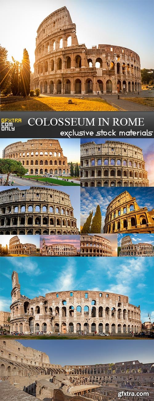 Colosseum in Rome, 10 x UHQ JPEG