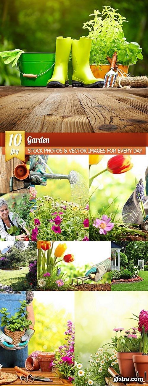 Garden, 10 x UHQ JPEG