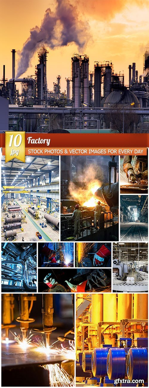 Factory, 10 x UHQ JPEG