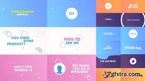 Videohive - Dynamic/Kinetic Typography Pack - 17757526