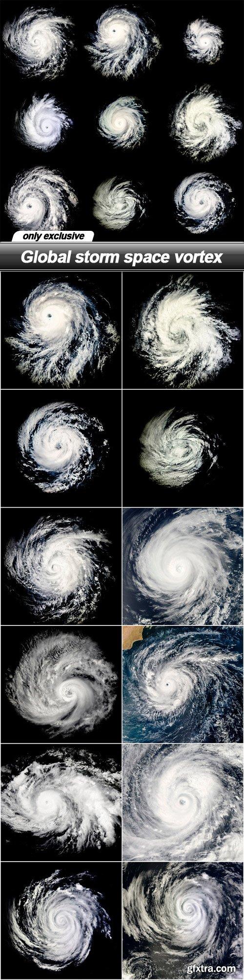 Global storm space vortex - 13 UHQ JPEG