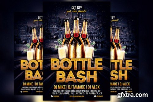 CM - Bottle Bash Flyer Template 135571