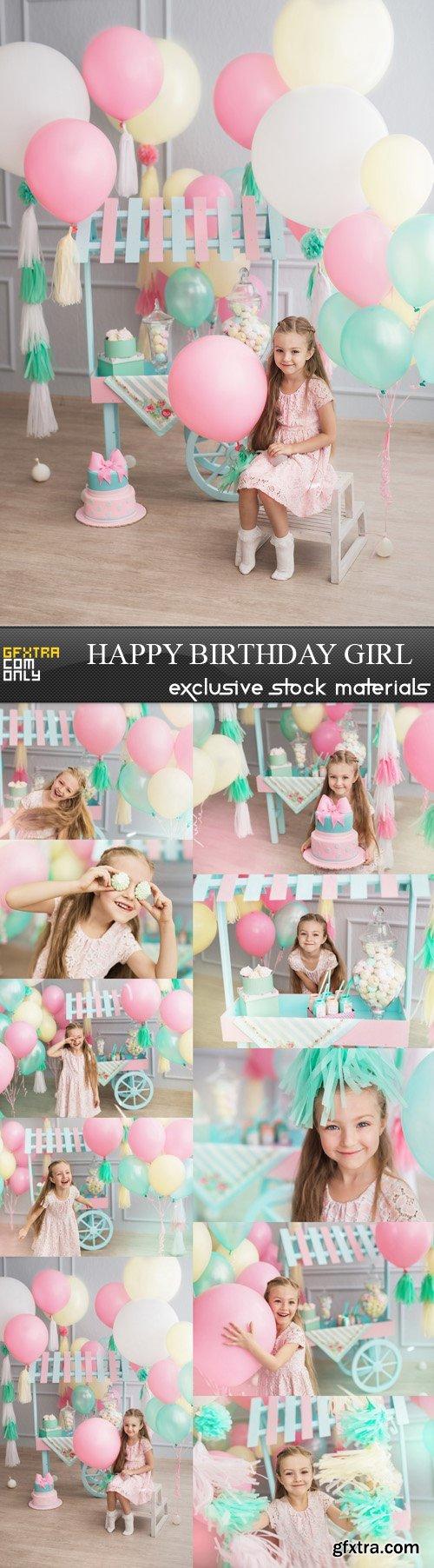 Happy Birthday Girl - 10 UHQ JPEG