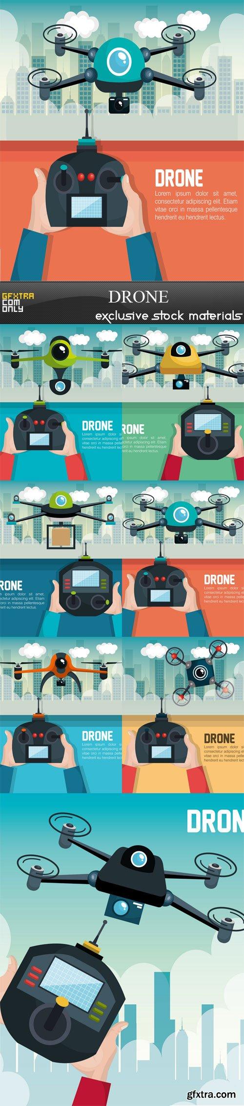 Drone, 7 х EPS