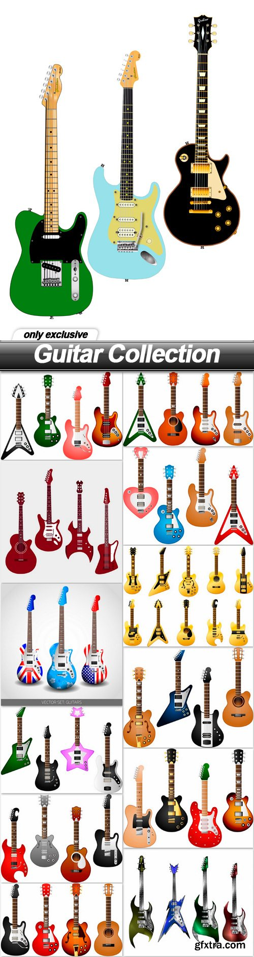 Guitar Collection - 13 EPS