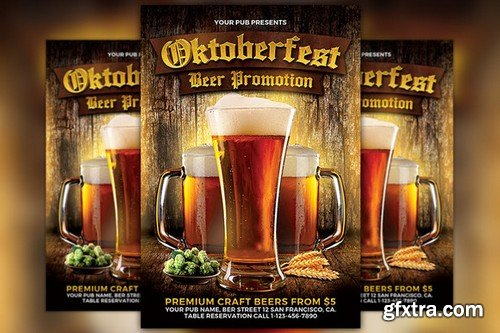 CM - Oktoberfest Flyer Template 910699