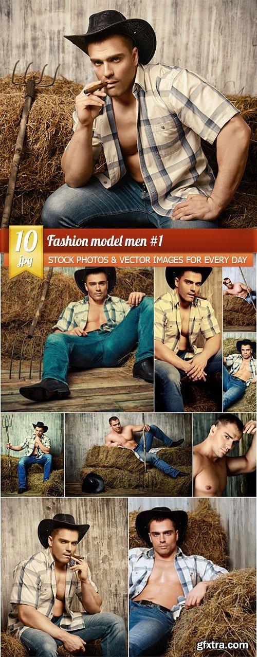 Fashion model men #1, 10 x UHQ JPEG