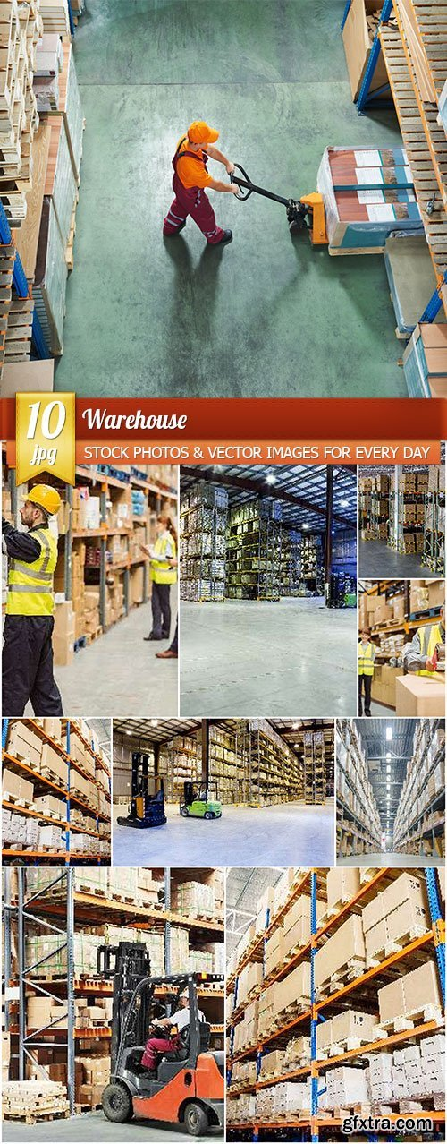Warehouse, 10 x UHQ JPEG