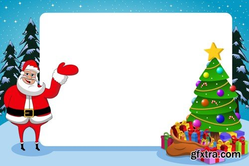 Xmas Frames 10xEPS » Vector, Photoshop PSDAfter Effects, Tutorials ...