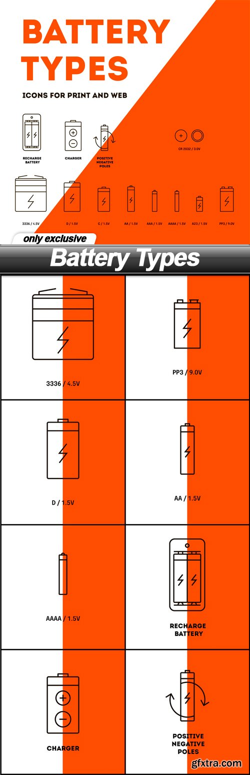 Battery Types - 9 EPS