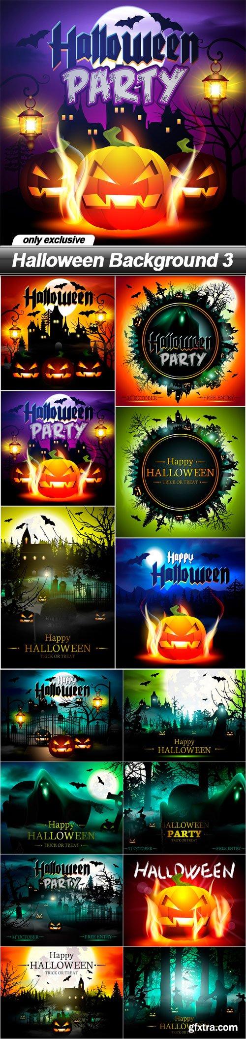 Halloween Background 3 - 14 EPS