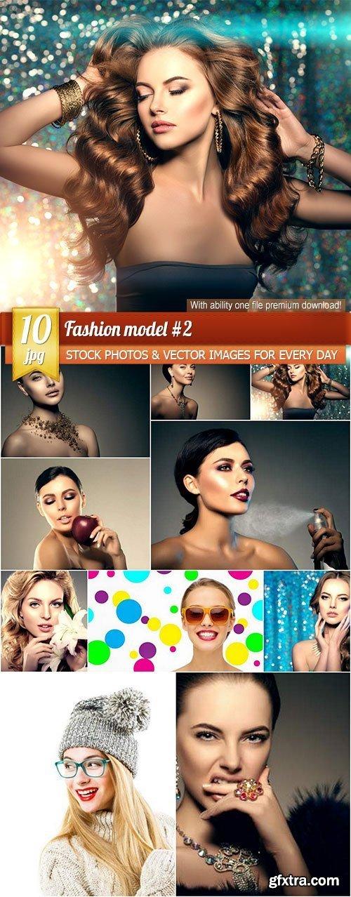 Fashion model #2, 10 x UHQ JPEG