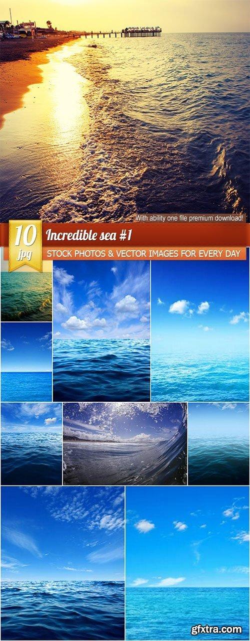 Incredible sea #1, 10 x UHQ JPEG
