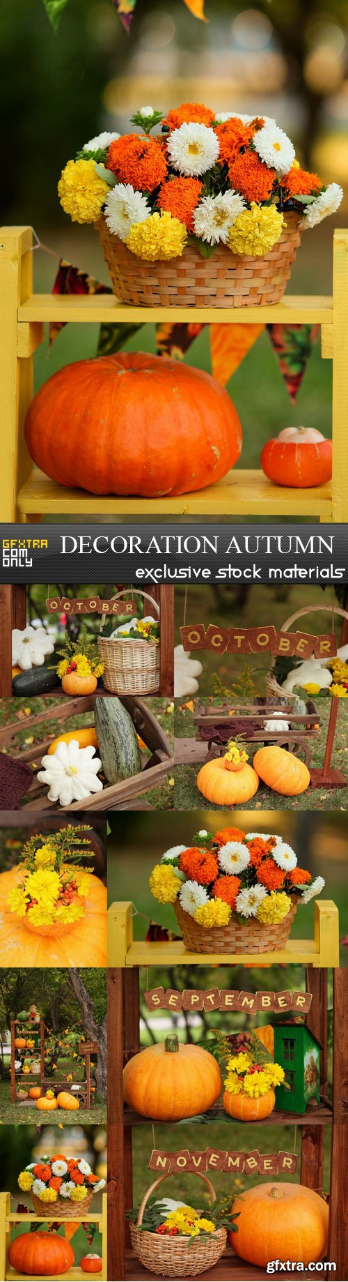 Decoration Autumn - 10 UHQ JPEG