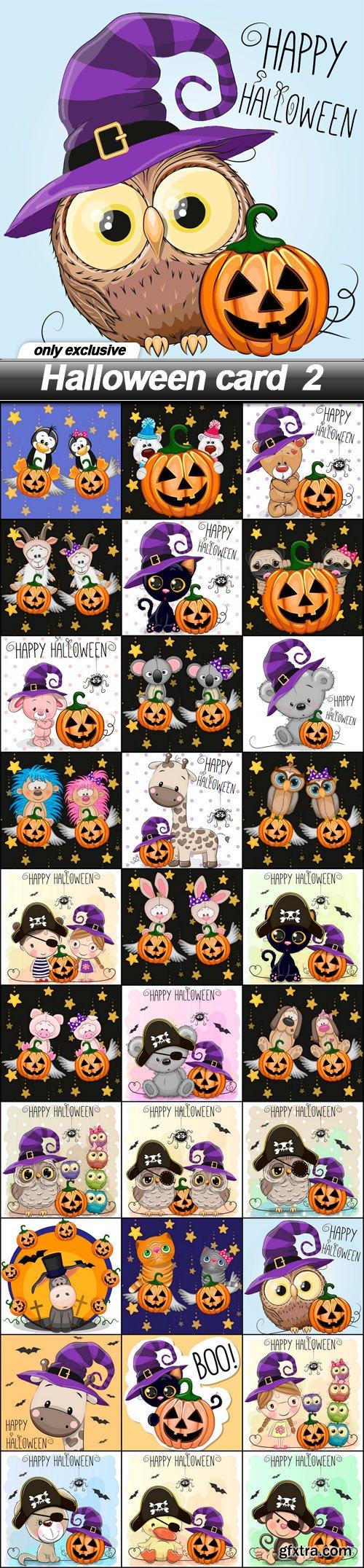 Halloween card 2 - 30 EPS