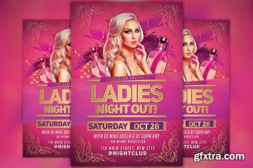 CM - Ladies Night Out Party Flyer 929706